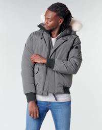 material Men Duffel coats Casual Attitude NIFFO Grey