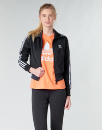 material Women Jackets adidas Originals FIREBIRD TT Black