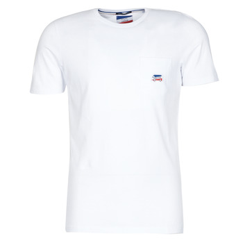 material Men short-sleeved t-shirts Jack & Jones JJMASCARIN White