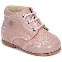 Shoes Girl Mid boots Citrouille et Compagnie NONUP Pink