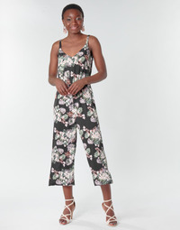 material Women Jumpsuits / Dungarees Vero Moda VMHELENMILO Black / Pink