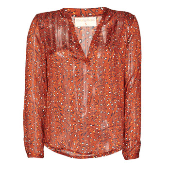 material Women Blouses Moony Mood NOUM Rust