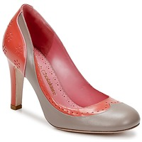 Shoes Women Court shoes Sarah Chofakian LAUTREC CLAY / Salmon