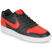 Shoes Men Low top trainers Nike EBERNON LOW Black / Red