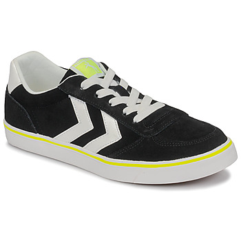 Shoes Children Low top trainers Hummel STADIL 3.0 JR Black / White