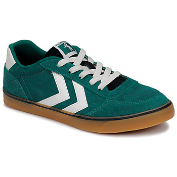 Shoes Children Low top trainers Hummel STADIL 3.0 JR Green