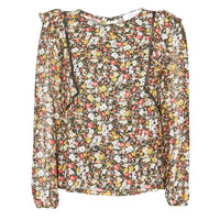 material Women Blouses Betty London NELIA Black / Multicolour
