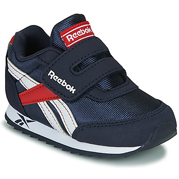 Shoes Girl Low top trainers Reebok Classic REEBOK ROYAL CLJOG Marine / White