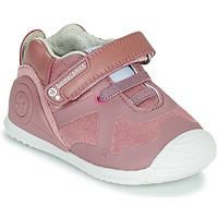 Shoes Girl Low top trainers Biomecanics ZAPATO ELASTICO Pink