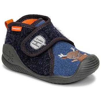 Shoes Children Slippers Biomecanics ZAPATILLA TWIN Grey / Blue