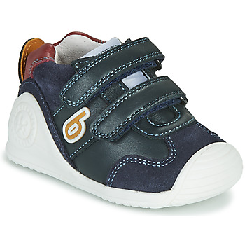 Shoes Boy Low top trainers Biomecanics ZAPATO SPORT VELCRO Marine