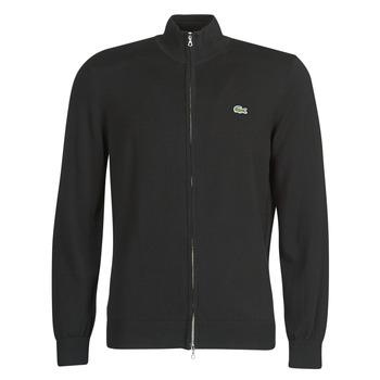 material Men Jackets / Cardigans Lacoste AH1957 Black