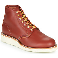 Shoes Women Mid boots Red Wing 6 INCH ROUND Cognac