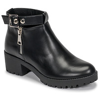Shoes Women Mid boots Moony Mood NOELLE Black