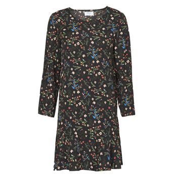 material Women Short Dresses Betty London NELLY Black / Multicolour