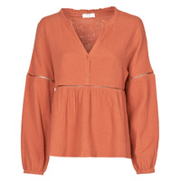 material Women Blouses Betty London NASSE Rust