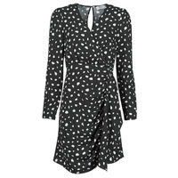 material Women Short Dresses Betty London NOELINE Black / White
