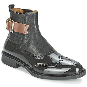 Shoes Men Mid boots Vivienne Westwood BROGUE BOOT Black