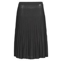 material Women Skirts Liu Jo MF0083-MA64J Black / Lurex / Gold