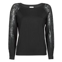 material Women jumpers Liu Jo MF0011-MA49I Black