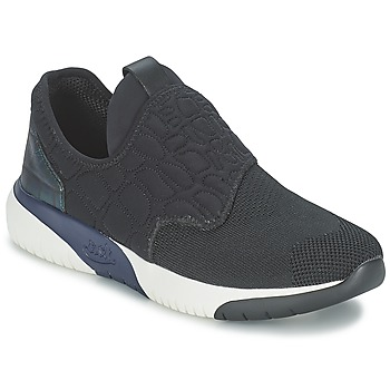 Shoes Women Low top trainers Ash SODA Black / Blue