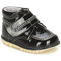 Shoes Girl Mid boots Citrouille et Compagnie MELIN Black