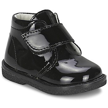 Shoes Girl Mid boots Citrouille et Compagnie MERLE Black