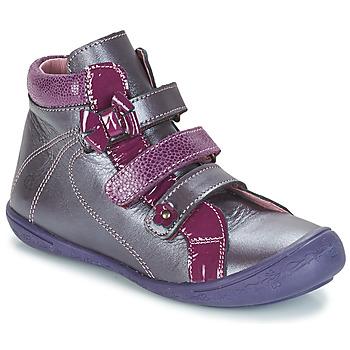 Shoes Girl Mid boots Citrouille et Compagnie FALIE Violet