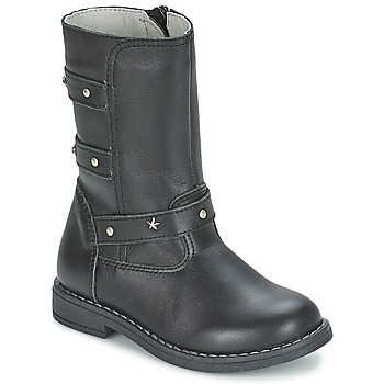 Shoes Girl Boots Citrouille et Compagnie ELZA Black