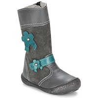 Shoes Girl Boots Citrouille et Compagnie RINDAR Grey