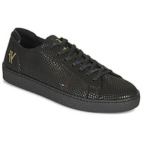 Shoes Men Low top trainers Le Coq Sportif CLUB YOGA Black