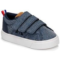 Shoes Children Low top trainers Le Coq Sportif VERDON CLASSIC Blue