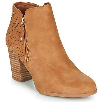 Shoes Women Ankle boots Xti  Cognac