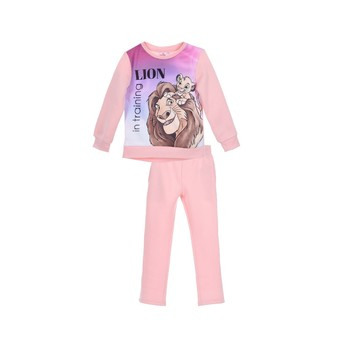 material Girl Tracksuits TEAM HEROES  JOGGING  LION KING Pink