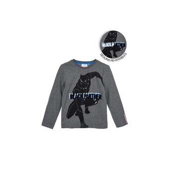 material Boy Long sleeved shirts TEAM HEROES  AVENGERS Grey