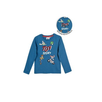 material Boy Long sleeved shirts TEAM HEROES  TOY STORY Blue