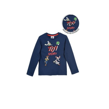 material Boy Long sleeved shirts TEAM HEROES  TOY STORY Marine