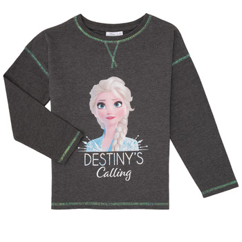 material Girl Long sleeved shirts TEAM HEROES  FROZEN Grey