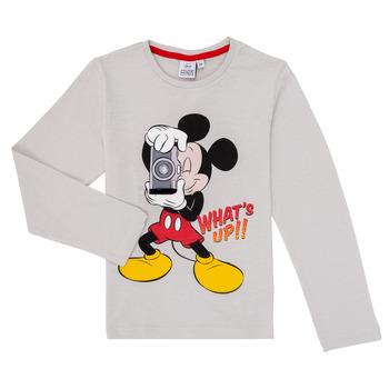 material Boy Long sleeved shirts TEAM HEROES  MICKEY Grey