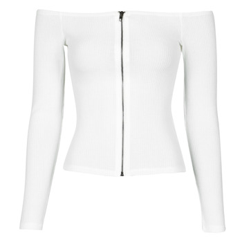 material Women Blouses Moony Mood NOAM White