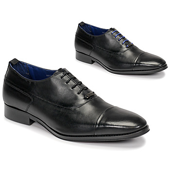 Shoes Men Brogue shoes Azzaro LITCHI Black