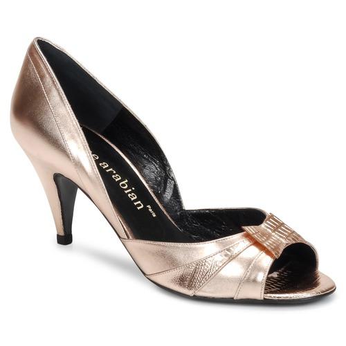 Shoes Women Court shoes Karine Arabian MONTEREY Pink / Metallic