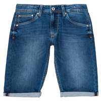 material Boy Shorts / Bermudas Pepe jeans CASHED SHORT Blue