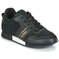 Shoes Boy Low top trainers BOSS J29225 Black