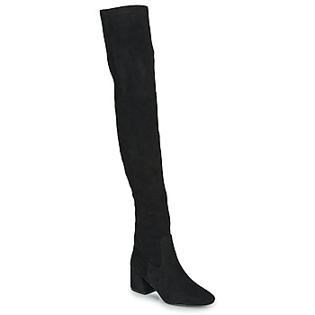 Shoes Women High boots Vanessa Wu CUISSARDES HAUTES Black