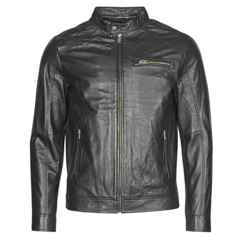 material Men Leather jackets / Imitation leather Selected SLHC01 Black