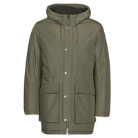 material Men Parkas Selected SLHLEO Kaki
