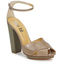 Shoes Women Sandals Keyté KRISTAL-26722-TAUPE-FLY-3 Taupe