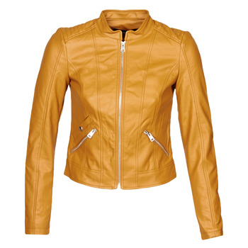 material Women Leather jackets / Imitation leather Vero Moda VMKHLOE Mustard