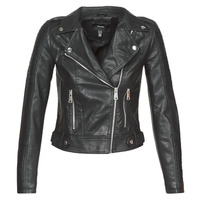 material Women Leather jackets / Imitation leather Vero Moda VMKERRIULTRA Black